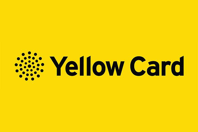 NHS Yellow Card Scheme