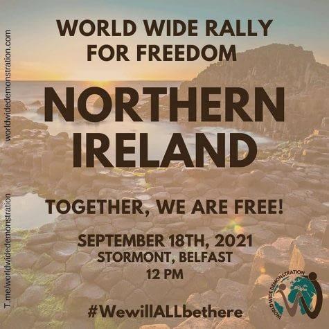 Worldwide Freedom Rally 18th September 2021