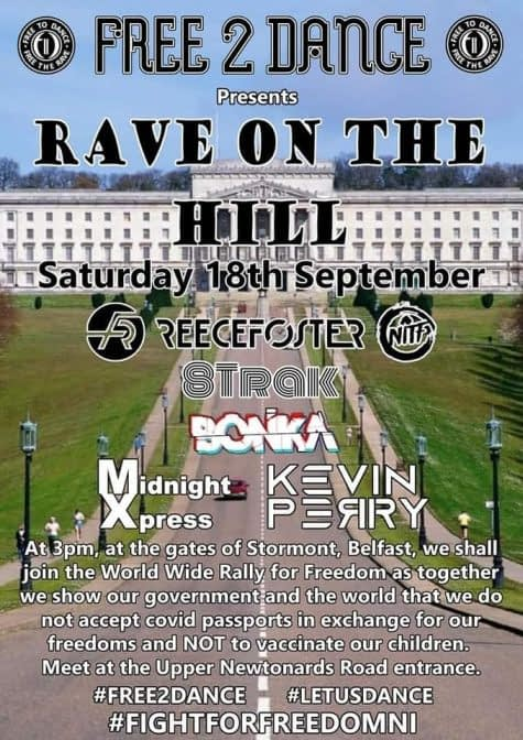 Rave On The Hill @ Stormont